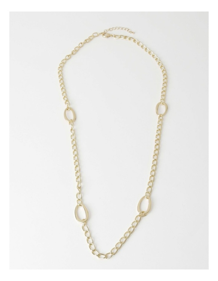 Long Chain Link Necklace image 2