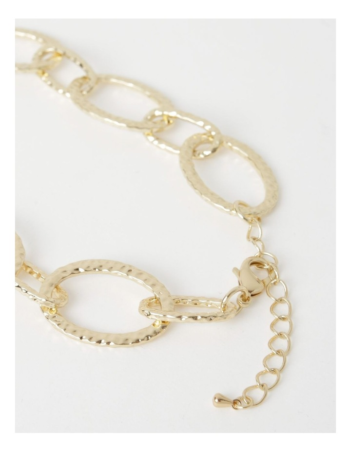 Statement Chain & Pearl Necklace image 3