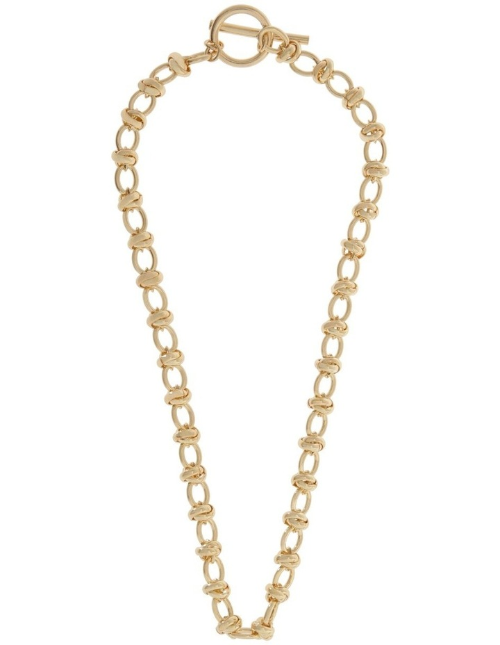 24k Gold Plated Russian Link Necklace image 2