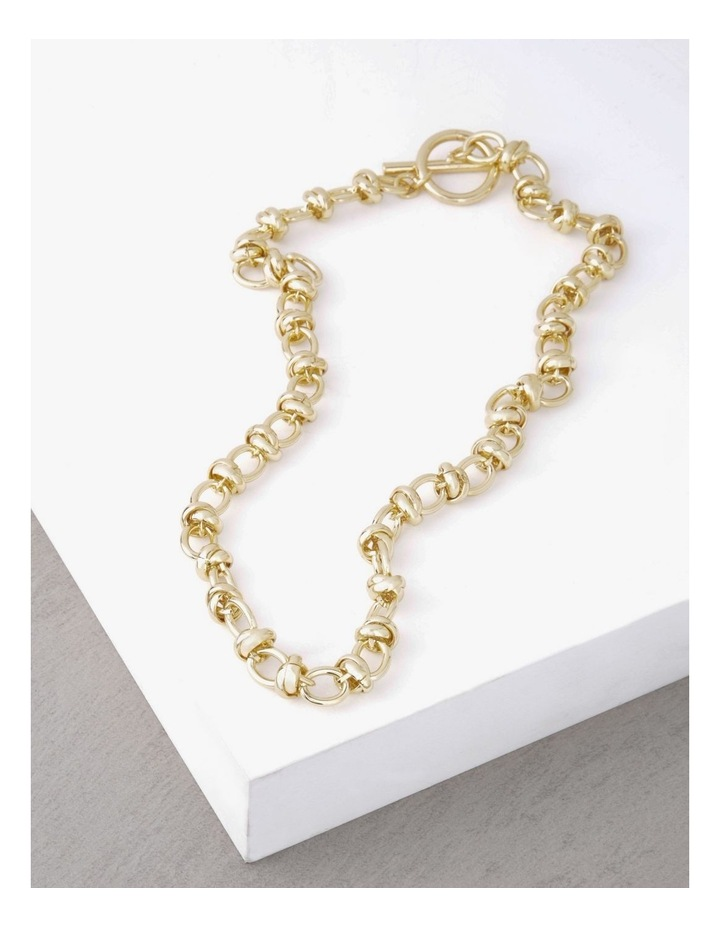 24k Gold Plated Russian Link Necklace image 3