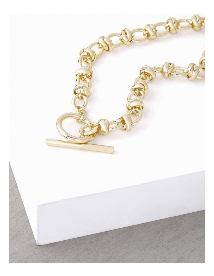 24k Gold Plated Russian Link Necklace image 4