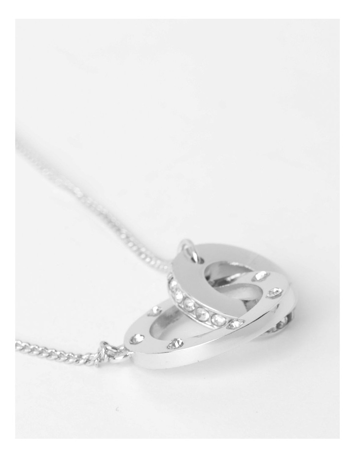 Interwoven Link Necklace image 1