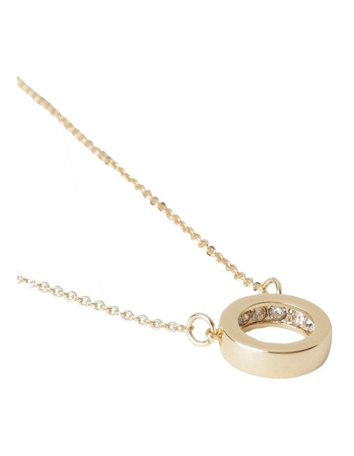 Inset Diamonte Layered Necklace image 3