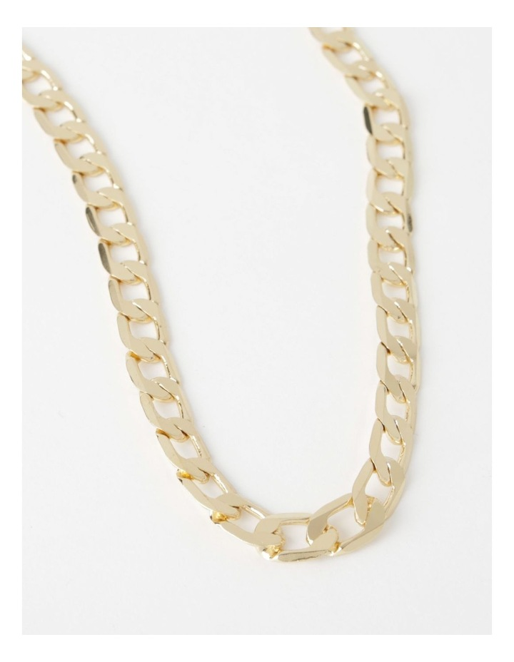 Flat Curb Chain Necklace image 1