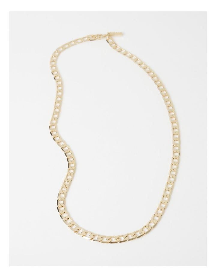 Flat Curb Chain Necklace image 2