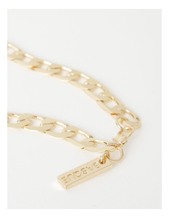 Flat Curb Chain Necklace image 3