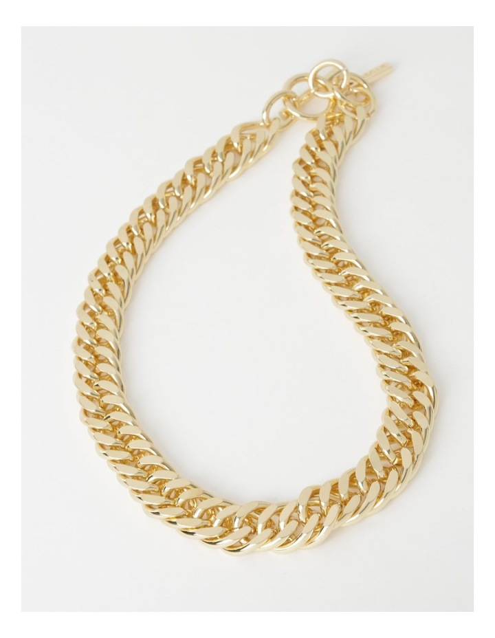Chunky Curb Chain Necklace image 2