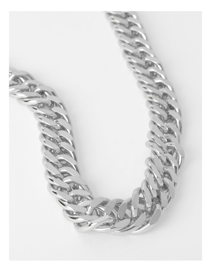 Chunky Curb Chain Necklace image 1