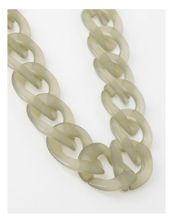 Tortoiseshell Link Short Necklace image 1