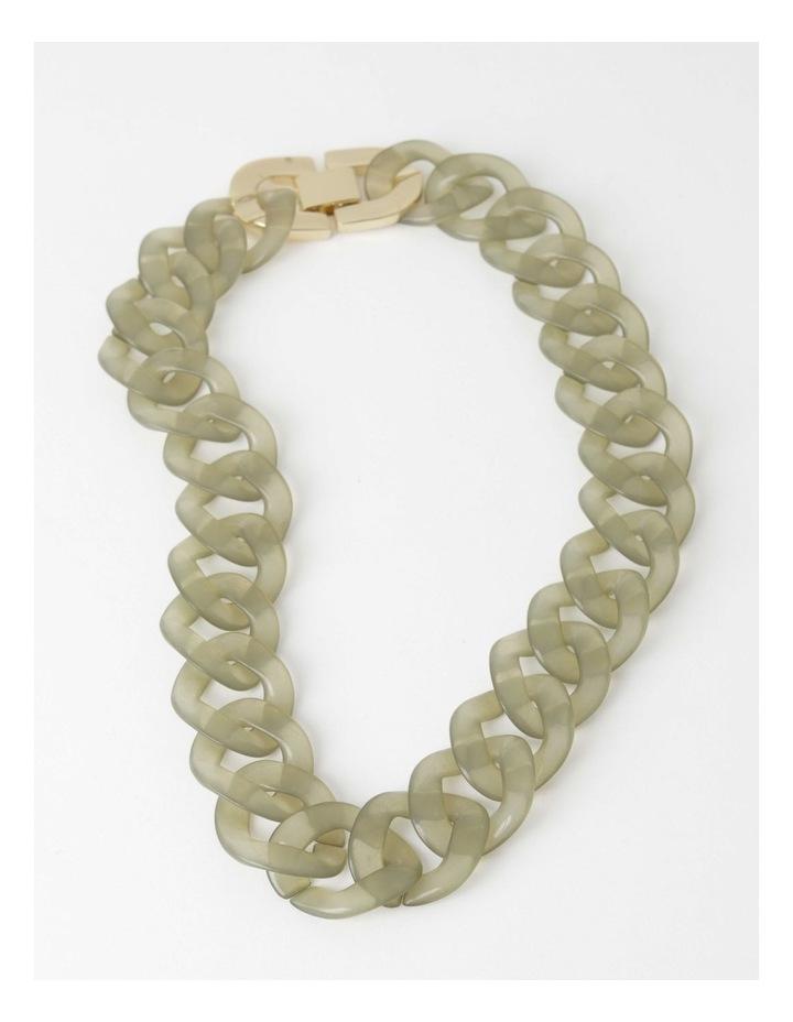 Tortoiseshell Link Short Necklace image 2