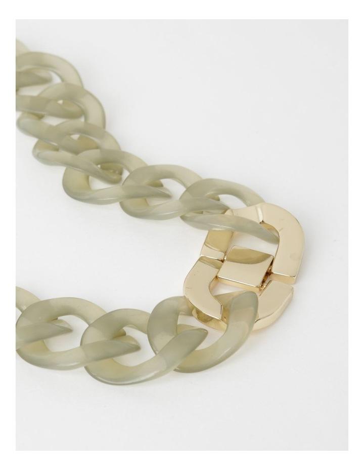 Tortoiseshell Link Short Necklace image 3