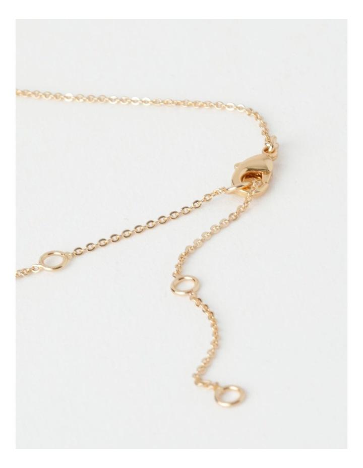 Single Stone Fine Chain Necklace image 5
