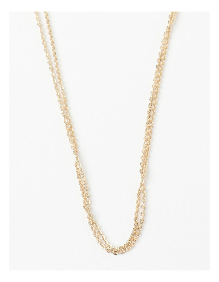 Fine Double Chain Layered Neck image 1