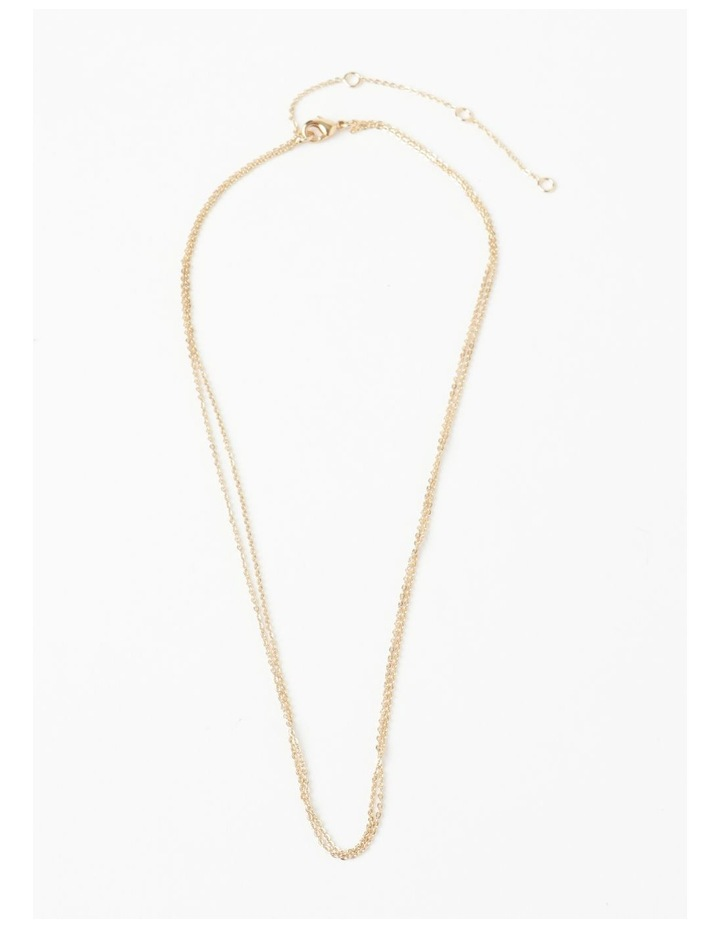 Fine Double Chain Layered Neck image 2
