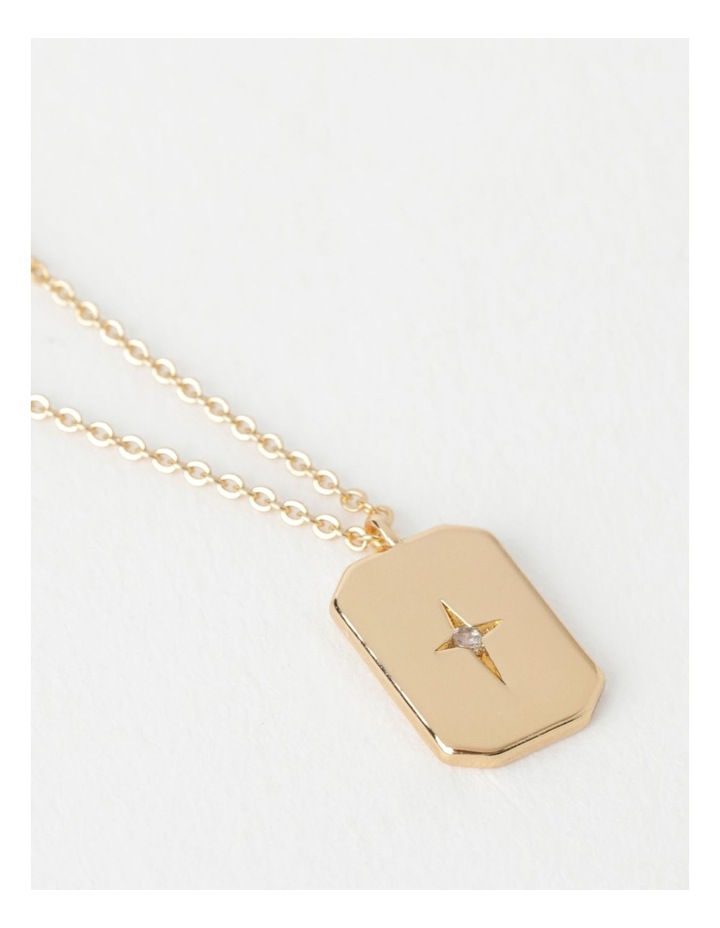 Star Charm Gold Necklace image 3