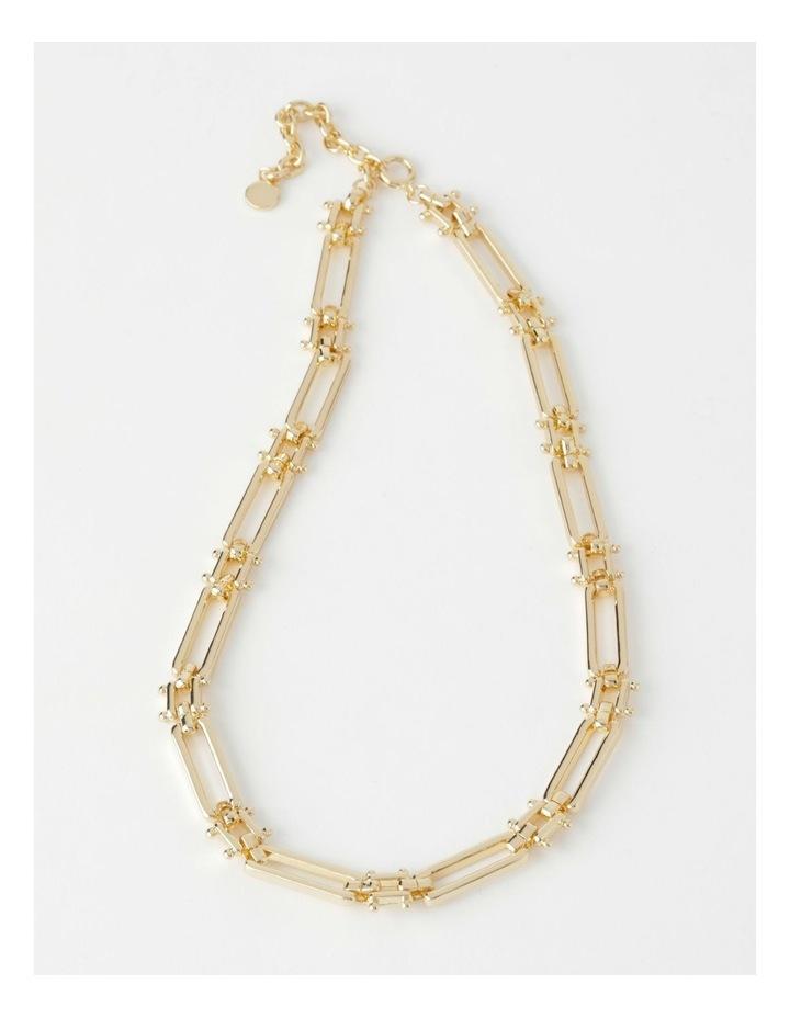 Rectangular Link Necklace image 1