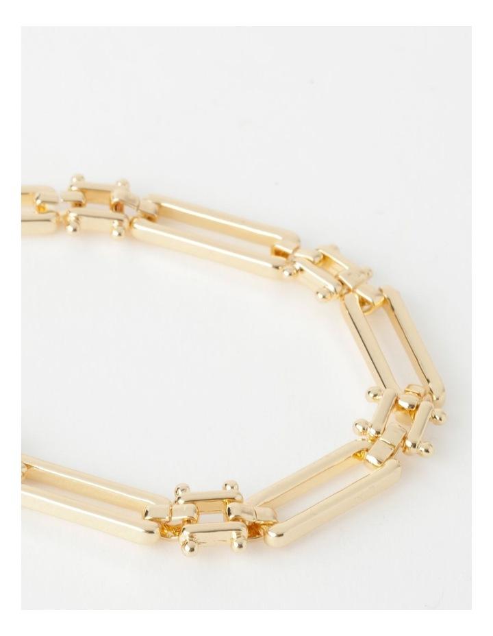 Rectangular Link Necklace image 3