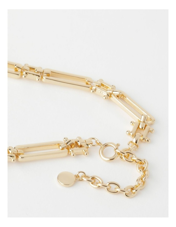 Rectangular Link Necklace image 5