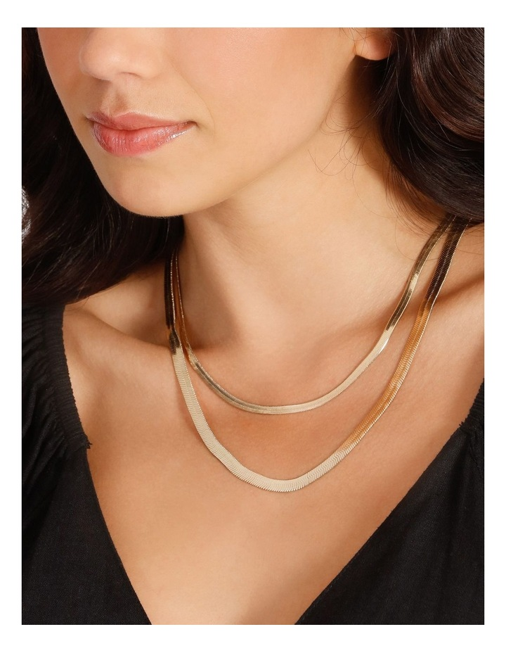 Flat Snake Chain Necklace image 4