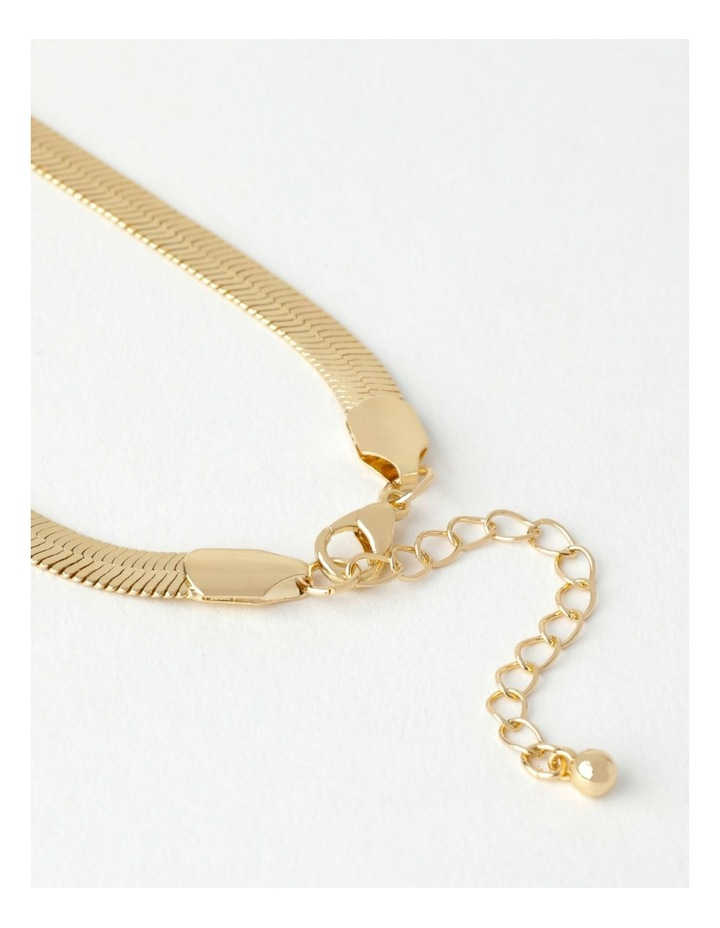 Flat Snake Chain Necklace image 6