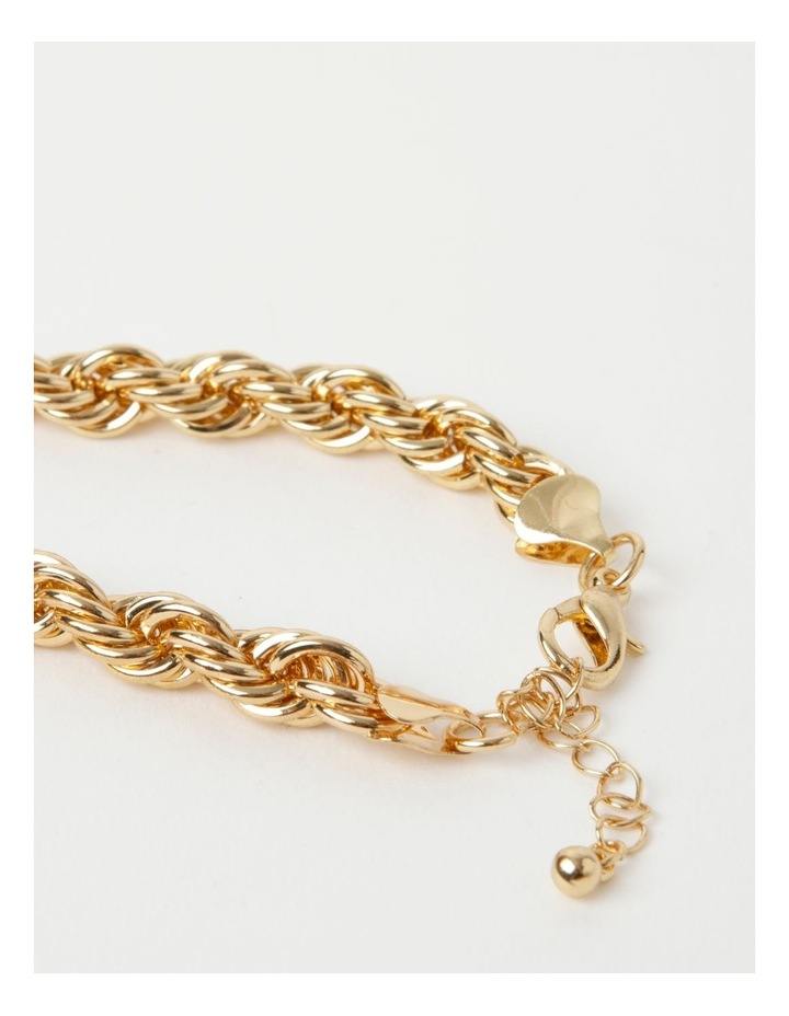 Rolled Chain Gold Necklace image 5