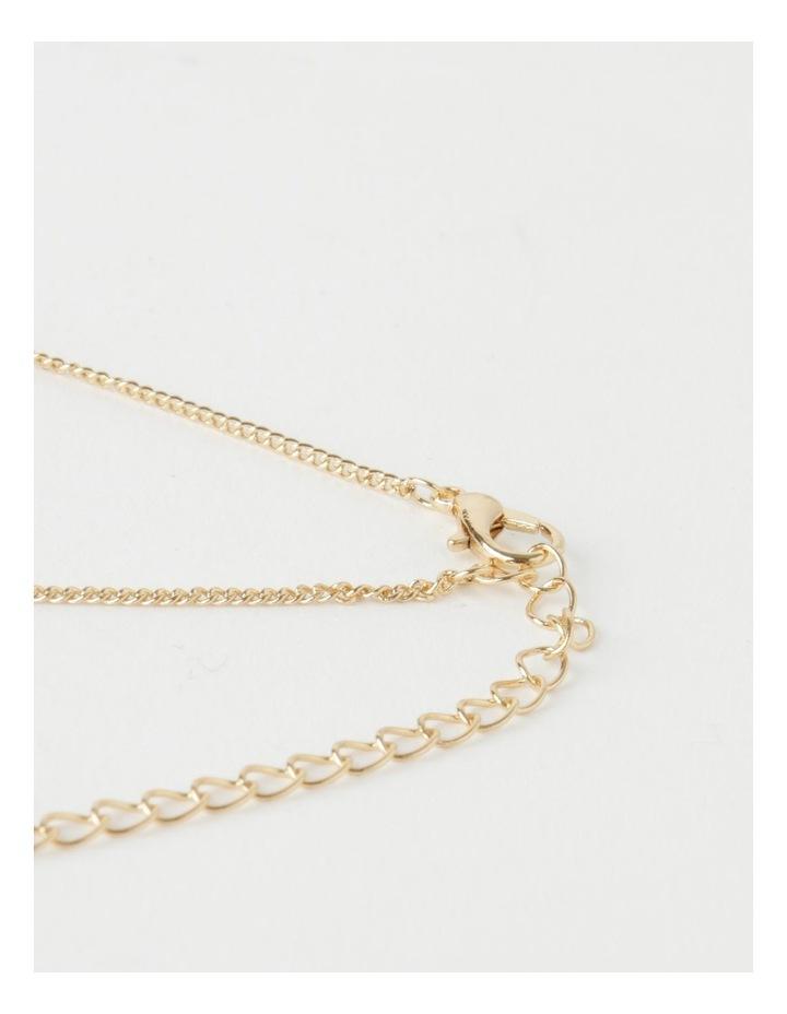 Mini Disc Gold Necklace image 3