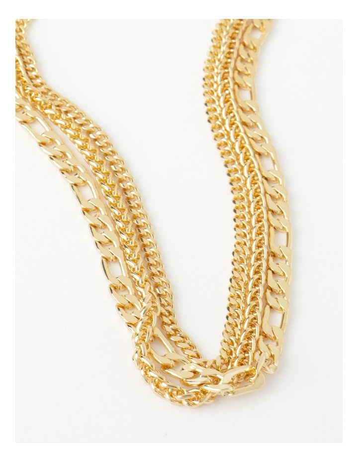 Layered Statement Chain Necklace image 2