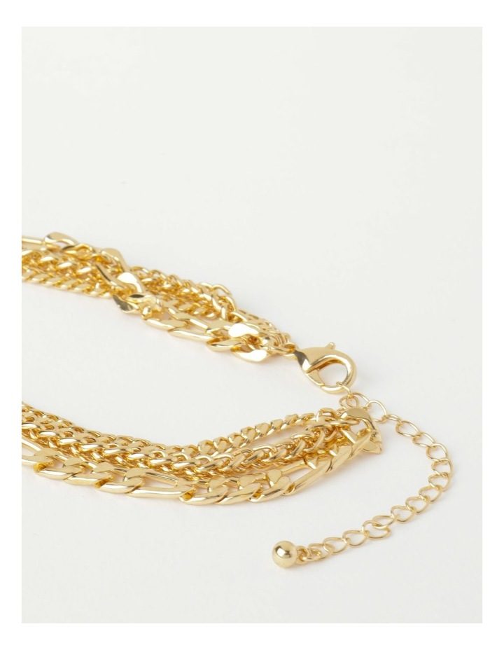 Layered Statement Chain Necklace image 3