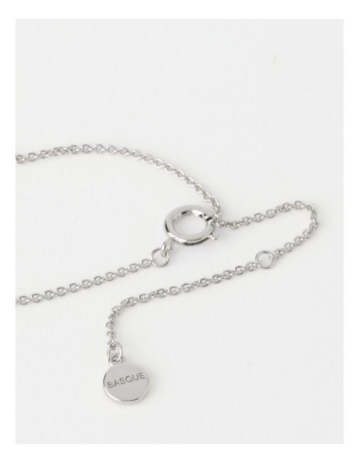 Teardrop Silver Necklace image 5