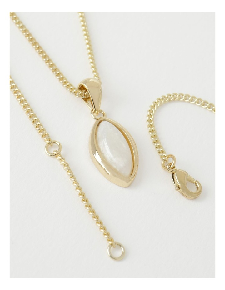 Resin Stone Pendant Necklace image 2