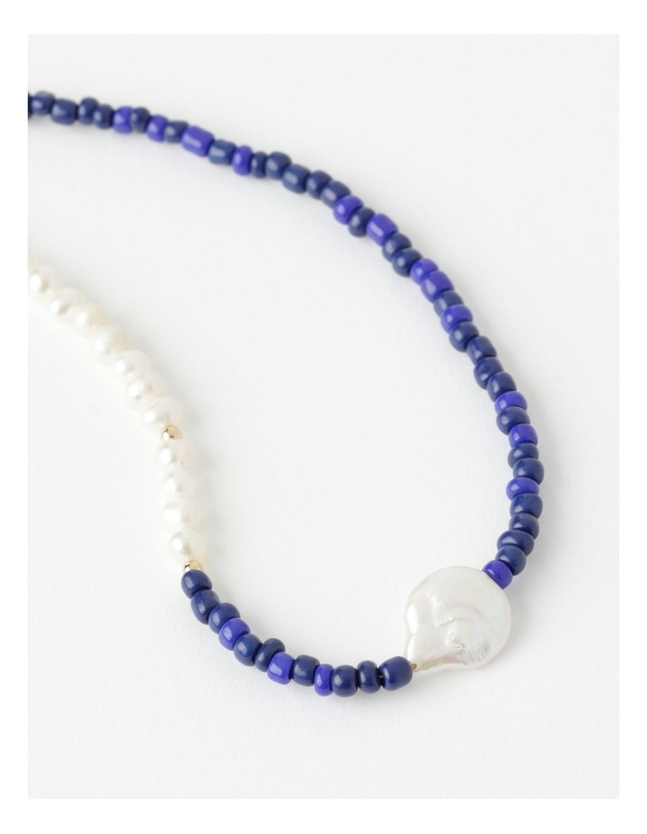Spliced Real Pearl Necklace image 2
