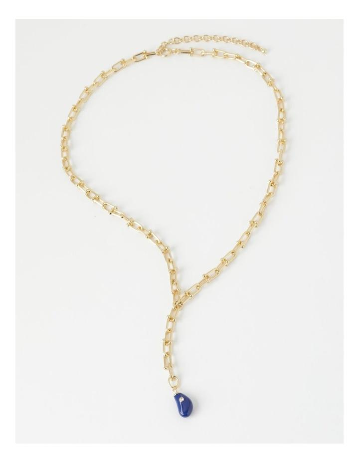 Enamel Charm Necklace image 1