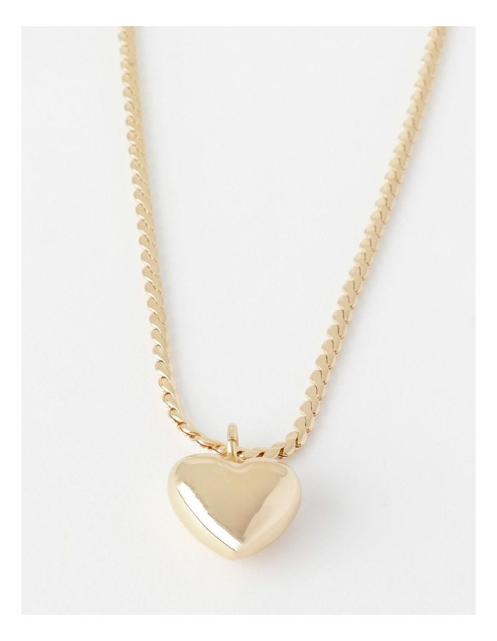 Puffy Heart Necklace image 1