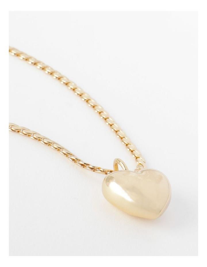Puffy Heart Necklace image 5