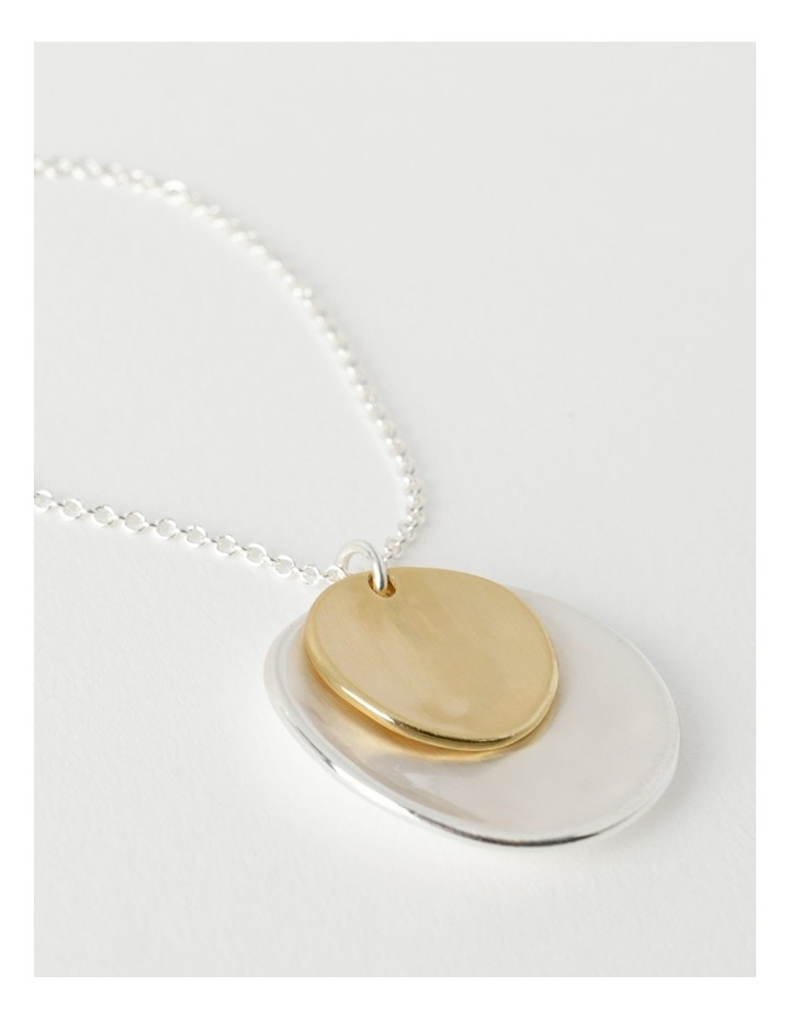 Double Disc Longline Necklace image 3