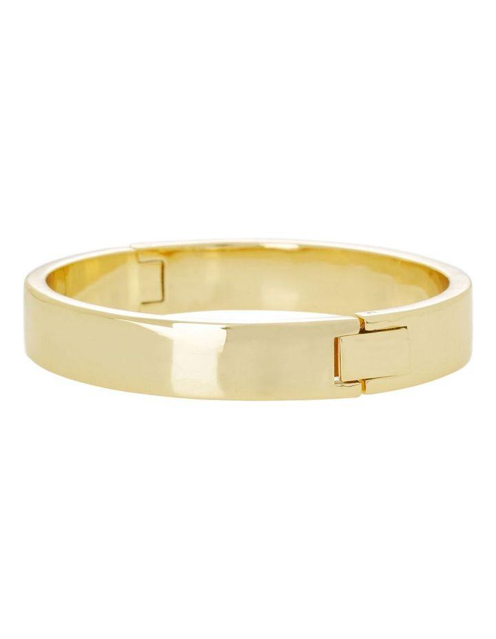Hinged Bangle Gold image 1