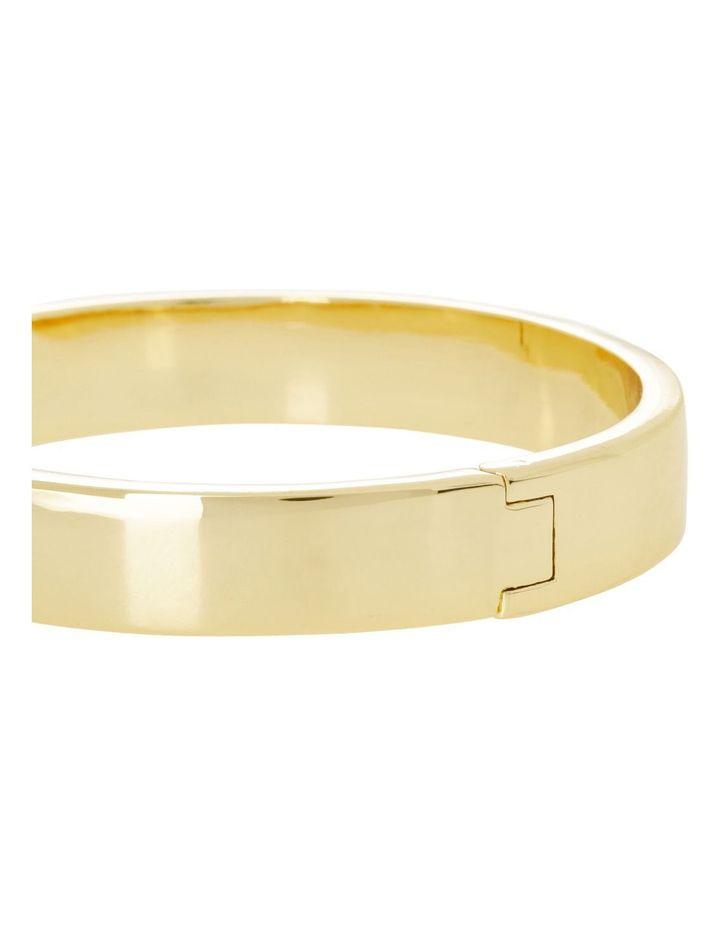 Hinged Bangle Gold image 2