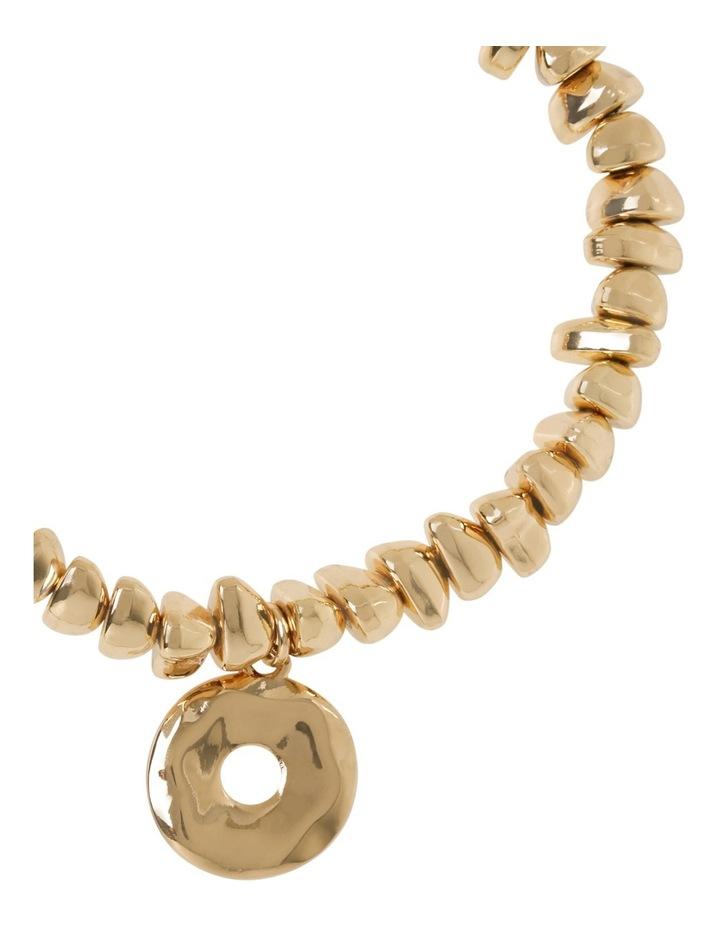 Organic Disc Stretch Bracelet image 2