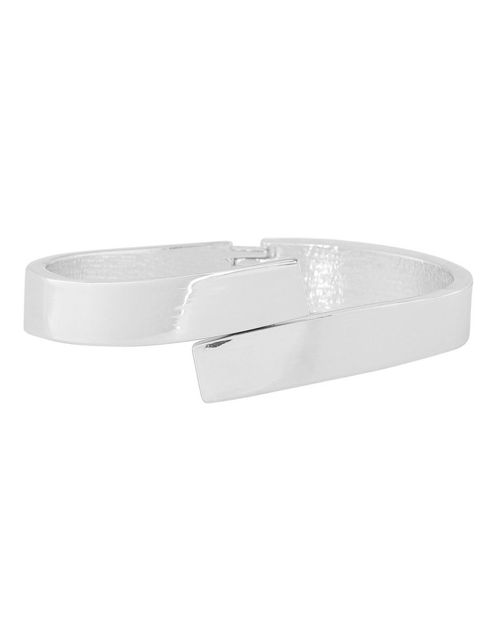 Hinge Cuff Silver image 1
