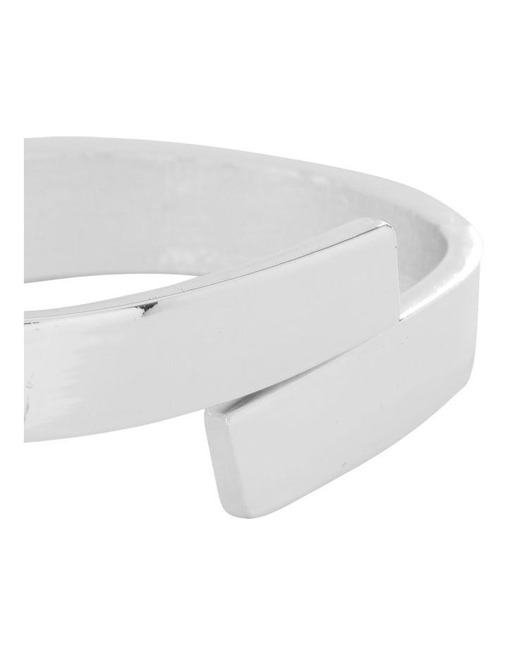 Hinge Cuff Silver image 2