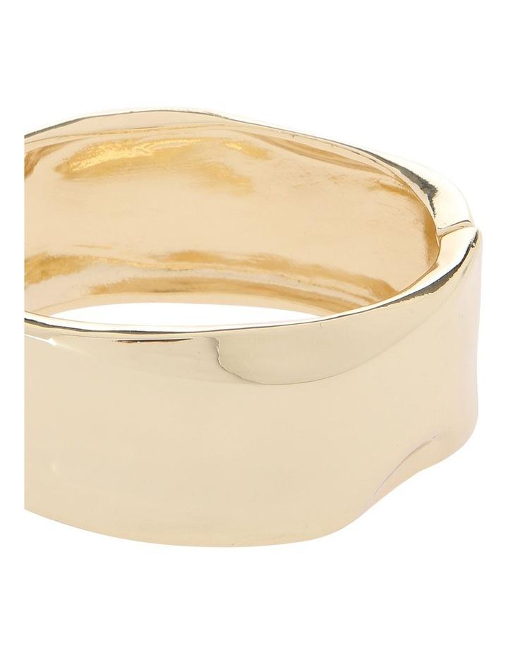 Organic Gold Bangle image 2