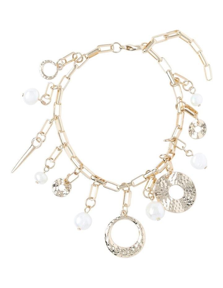 Molten Pearl Charm Bracelet image 1