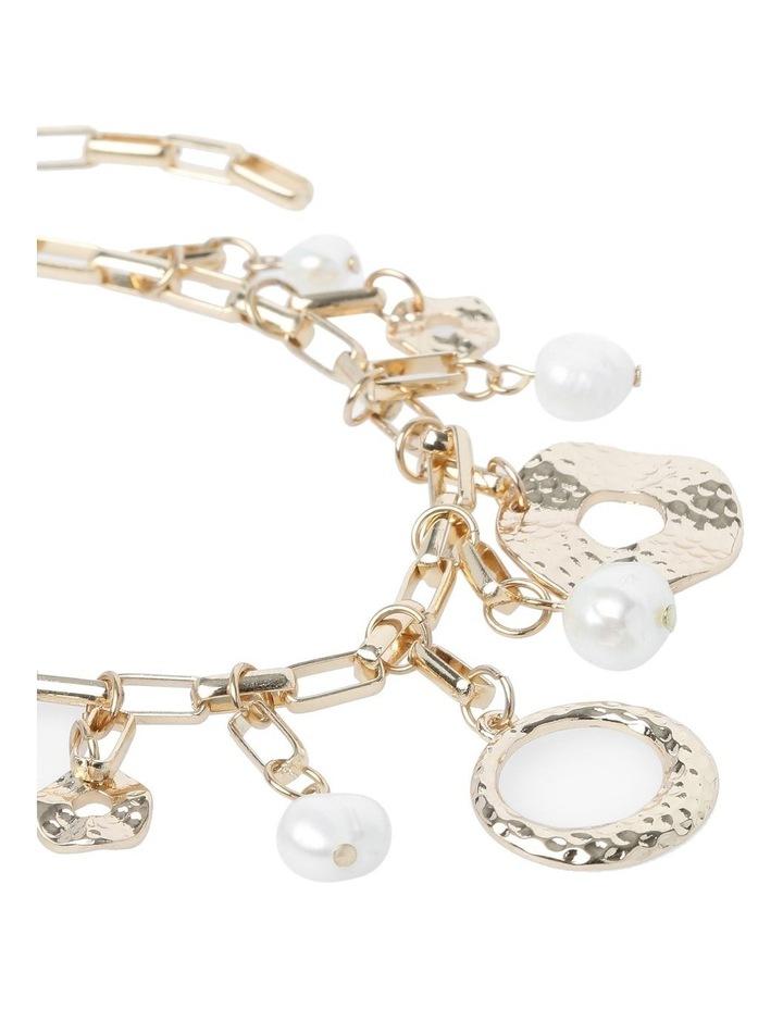 Molten Pearl Charm Bracelet image 2