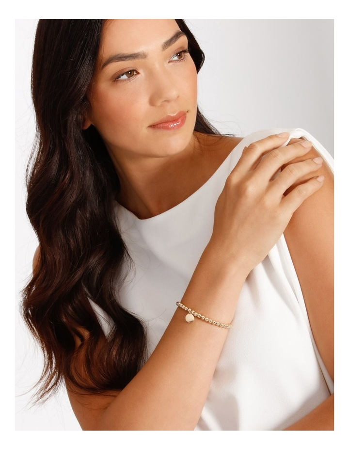 Charm Stretch Rose Gold Bracelet image 2