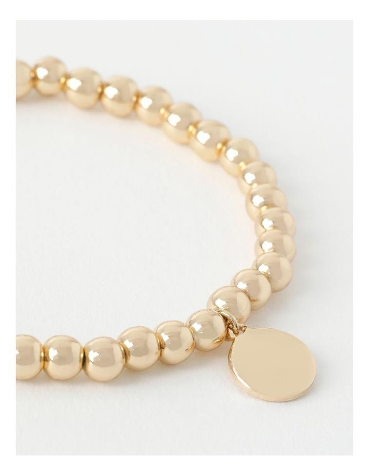 Charm Stretch Rose Gold Bracelet image 3