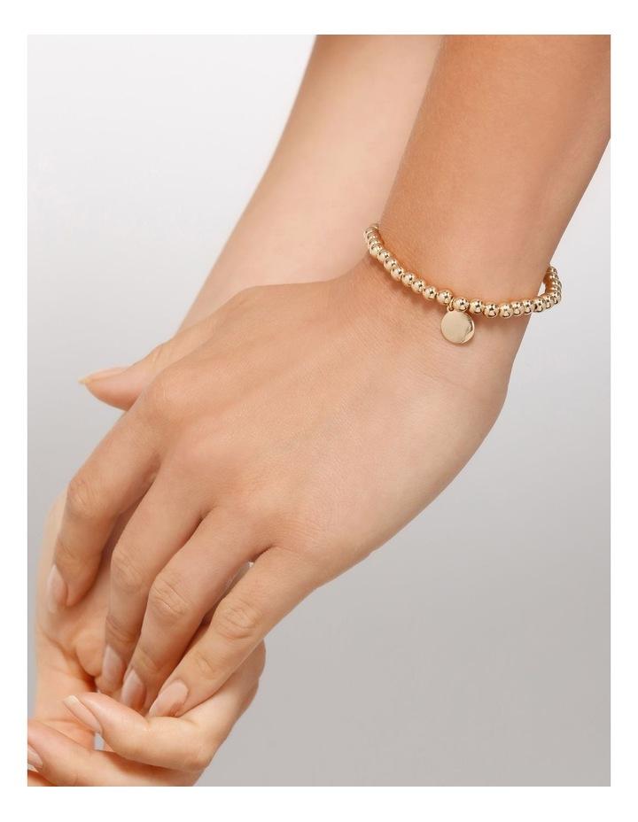 Charm Stretch Rose Gold Bracelet image 4