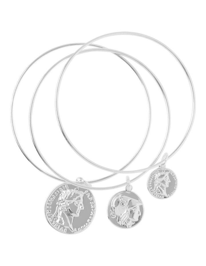 Coin Bangle Set image 1