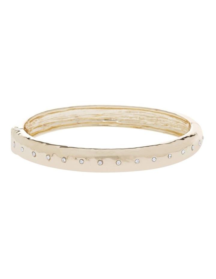 Hammered Sparkle Bracelet image 1