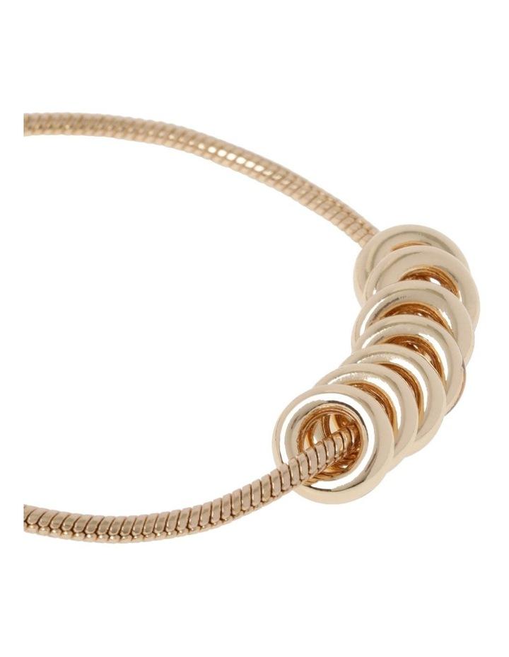 Gold Adjustable Ring Bracelet image 2