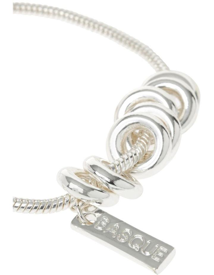 Silver Adjustable Ring Bracelet image 2